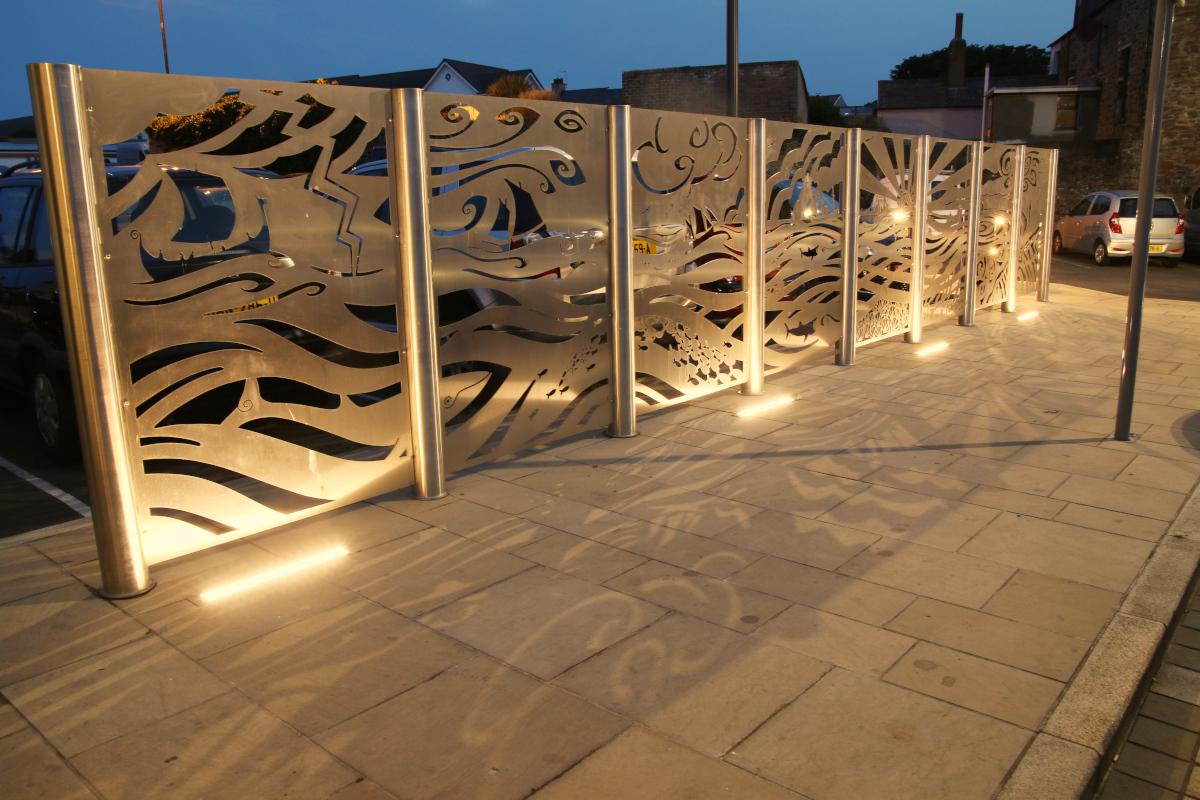 Peel Town Square Regeneration Public Artwork - Nicola Dixon