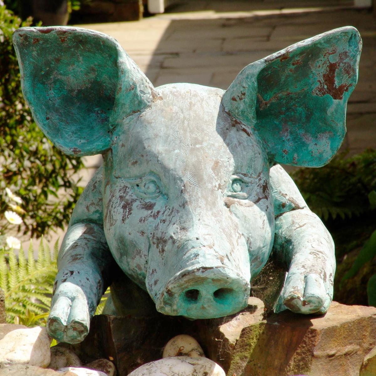 Hubert the pig