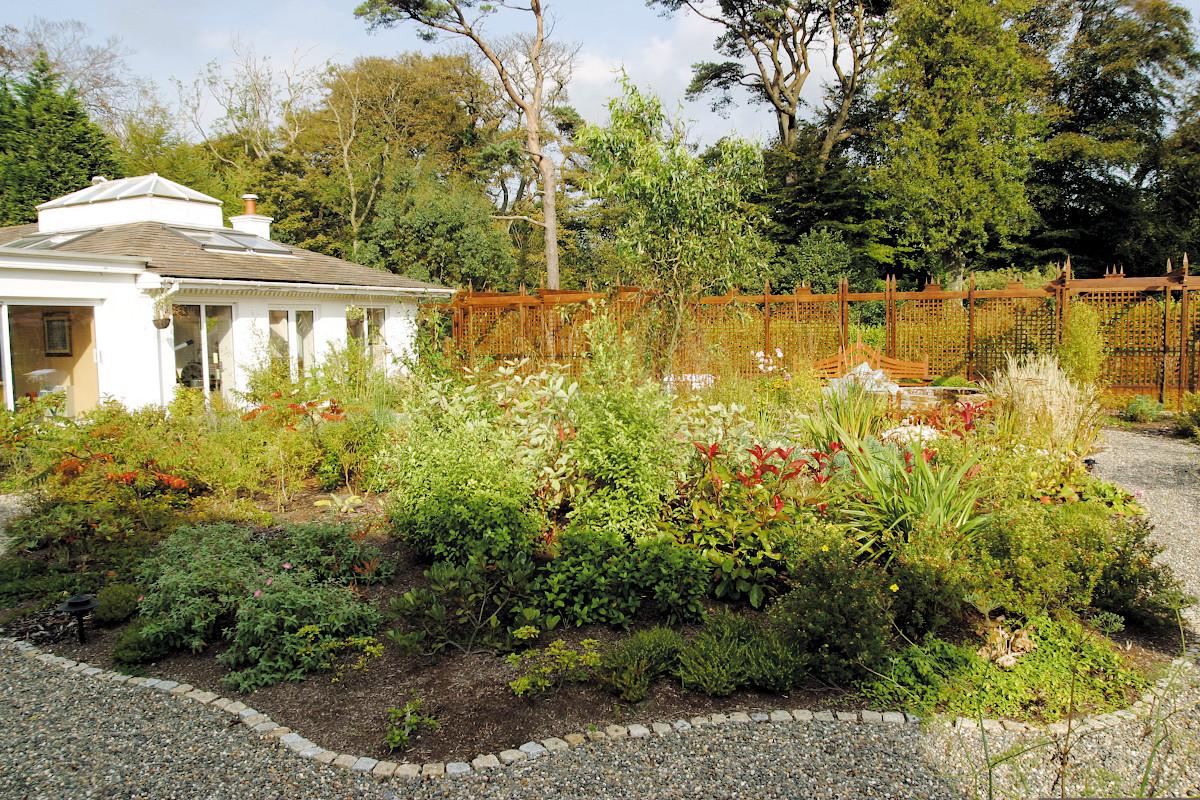 Beaufield House garden design planting