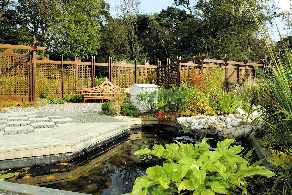 Beaufield House garden pond