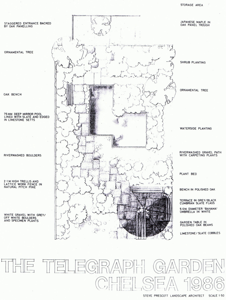 Chelsea 1986 Reclaimed Garden Design