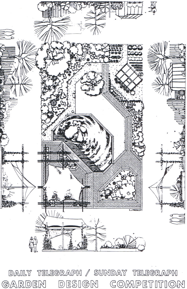 Dail Sunday Telegraph Competition Garden Design 1984