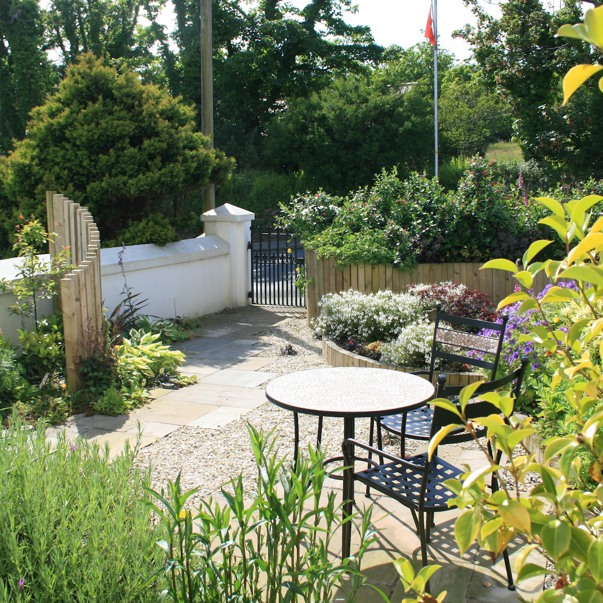 Summerhill Road garden design